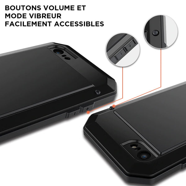 coque iphone bouton vibreur facile
