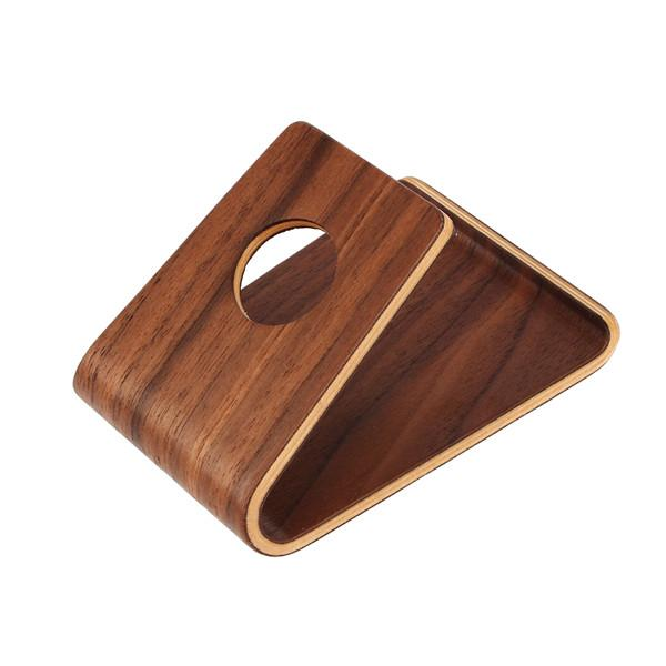 Support iPhone en bois