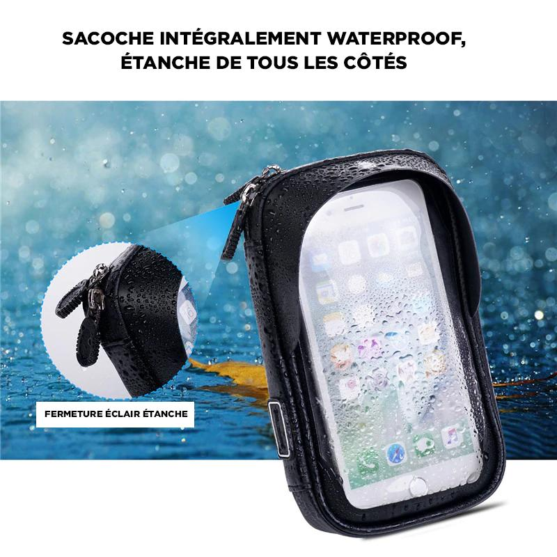 sacoche support iphone guidon vélo