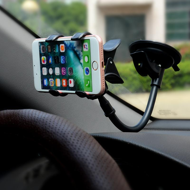 bras flexible iphone voiture support telephone