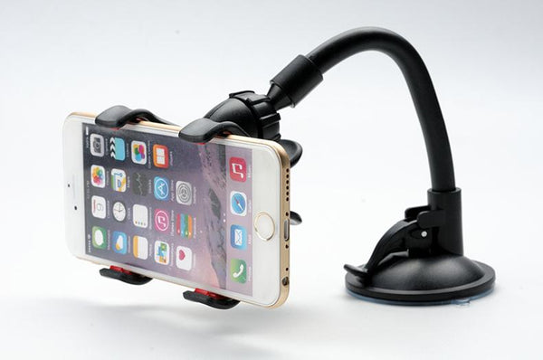 support iphone voiture bras flexible pare-brise