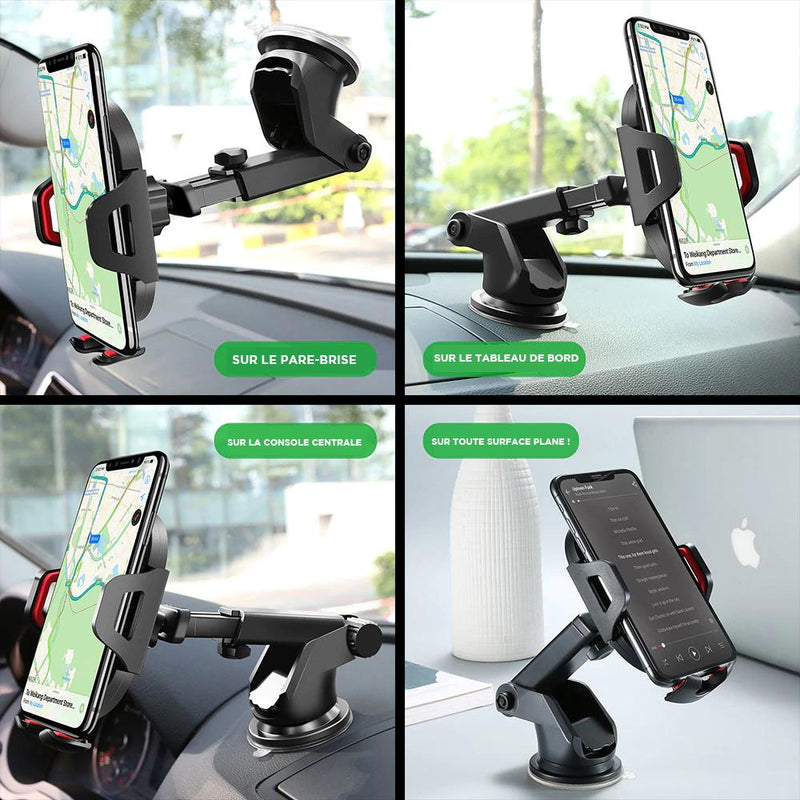 support voiture iphone ajustable