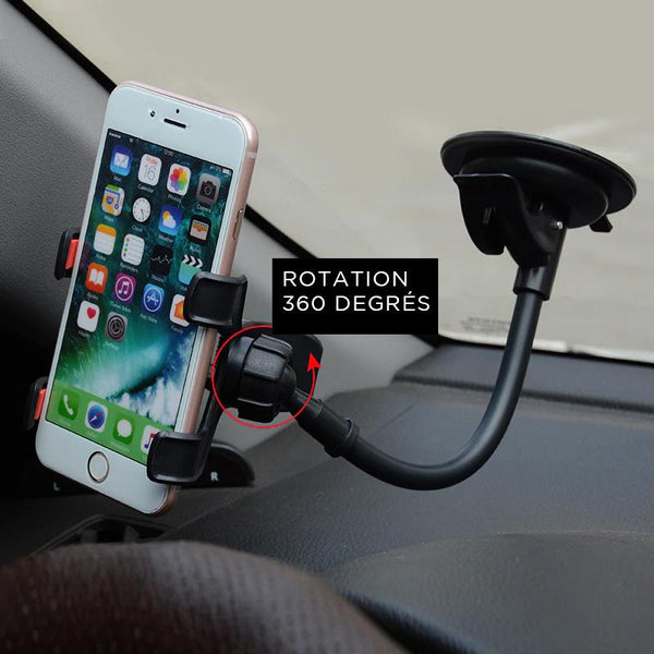 support voiture iphone