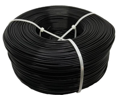 1KG PLA Filament Refill - Carbon Rod Black