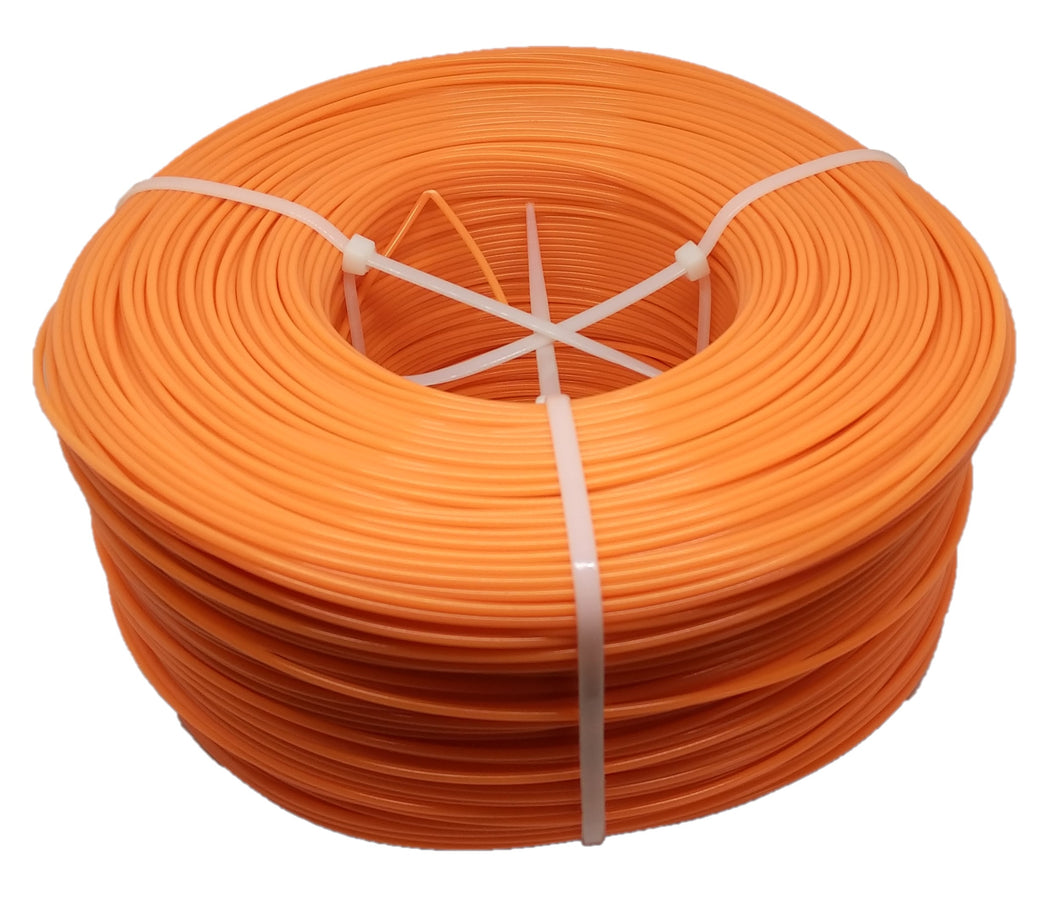 1KG PLA Filament Refill - Radioactive Orange