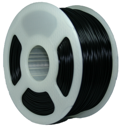 1KG PLA Filament - Carbon Rod Black