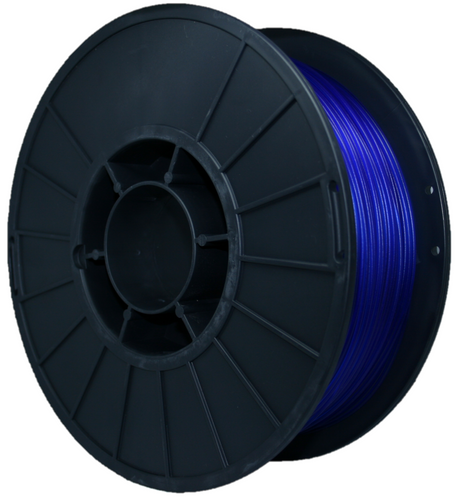 1KG PET Filament - Heavy Water Blue