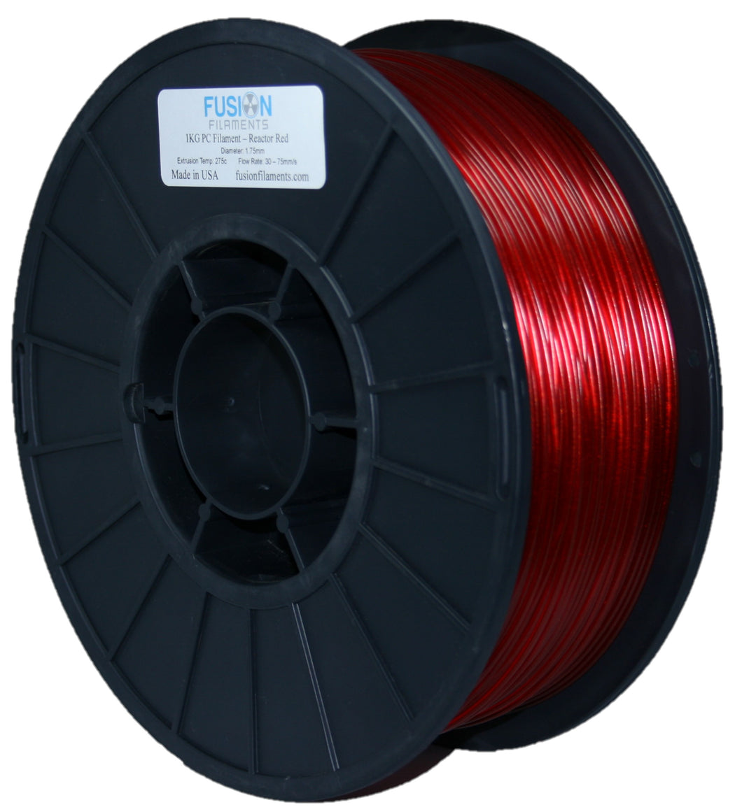 1KG PC Filament - Reactor Red