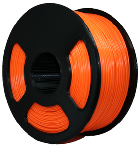 1KG PLA Filament - Radioactive Orange