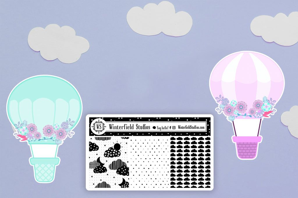Soaring Scene Sticker Kit 30% Off Launch Sale (May 14-17) Plus Two Freebies With Purchase