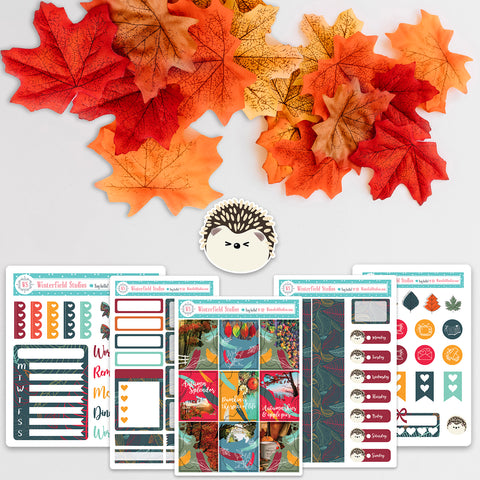 Fall & Autumn Planner Sticker Mini Kit