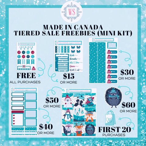 Made in Canada Fall Sale Stackable Freebies