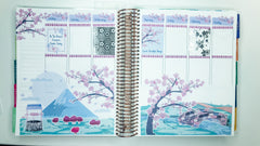 Cherry Blossom Bliss Scene Sticker Kit Full Box Stickers
