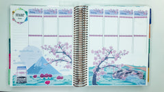 Cherry Blossom Bliss Scene Sticker Kit Art Deco Stickers