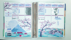Cherry Blossom Bliss Scene Sticker Kit