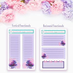 Watercolour Reverie Washi Strips & Functional Stickers