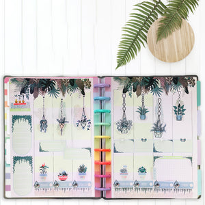 House Plant Stickers - Art Deco Planner Stickers