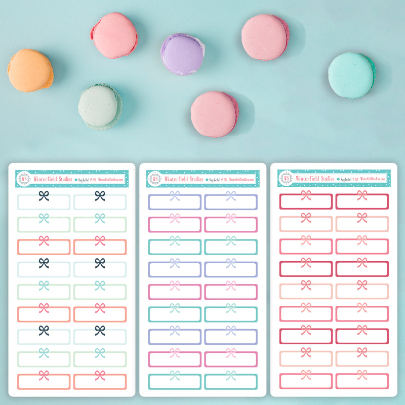Quarter Boxes for the Spring Blooms; Lady Luxury; & Coral, Pink, & Mint Planner Sticker Kits - Fits Vertical Planners