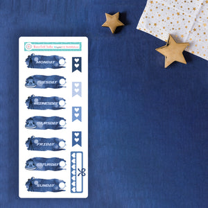 Space Odyssey Mini Sticker Kit - Fits Vertical Planners