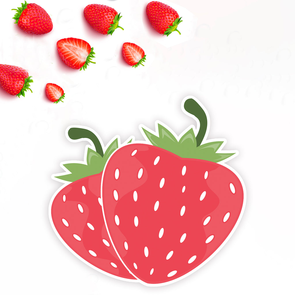 Strawberry Fields Hobonichi Weeks Planner Sticker Kit