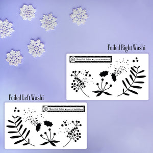 Whimsical Winter Flurry - Winter Planner Stickers - Fits Most Planners