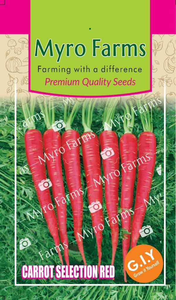 Carrot Selection Red
