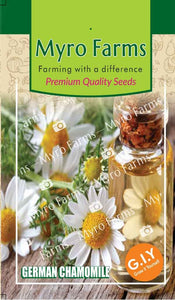 Premium Herb Seeds - German Chamomile
