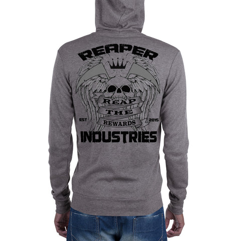 Reap The Rewards - Unisex zip hoodie (Light) - Reaper Industries