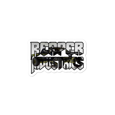 Truck Cutout - Bubble-free stickers - Reaper Industries