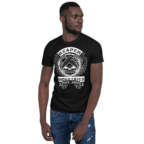 Reaper Skull - Short-Sleeve Mens T-Shirt (Dark) - Reaper Industries