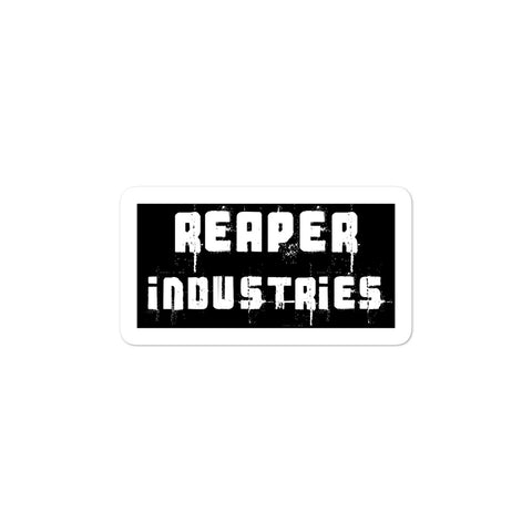 Reaper Ind Grunge - Bubble-free stickers - Reaper Industries