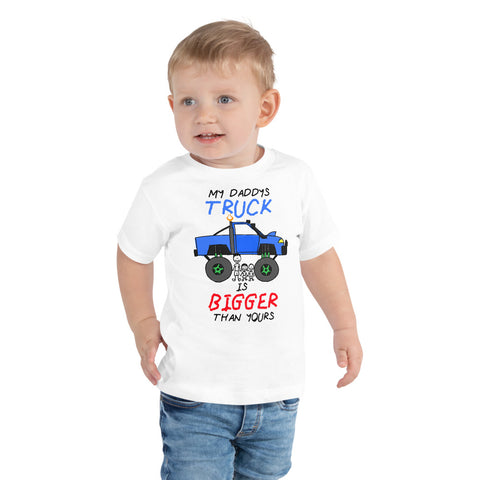 Daddy's Truck - Toddler Short Sleeve Tee - Reaper Industries