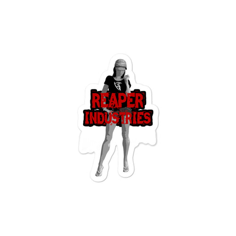 Reaper Girl 2 - Bubble-free stickers - Reaper Industries