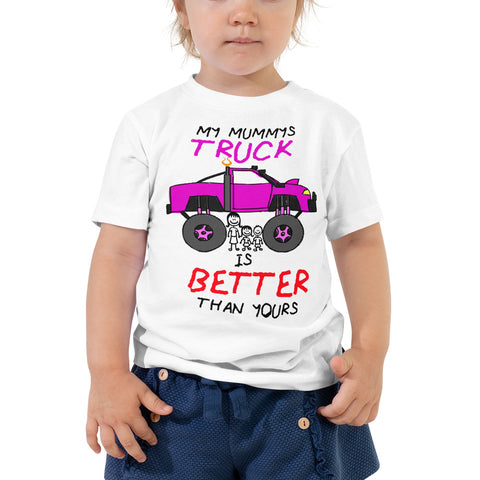 Mummy's Truck - Toddler Short Sleeve Tee - Reaper Industries