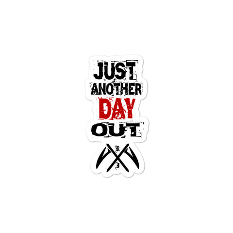 Just Another Day Out - Bubble-free stickers - Reaper Industries
