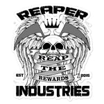 Reap the Rewards - Bubble-free stickers - Reaper Industries