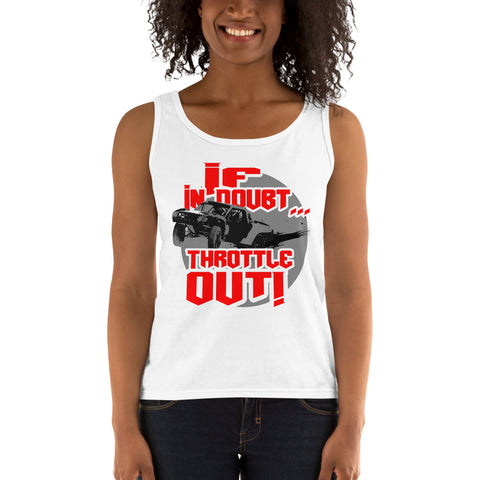 Throttle Out - Ladies' Tank