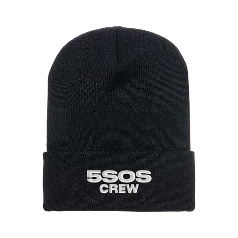 WE NEED CREW BEANIE BLACK