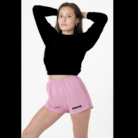 PINK LOGO SHORTS + DIGITAL ALBUM [OPTIONAL]