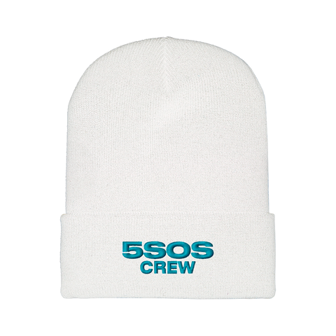 WE NEED CREW BEANIE WHITE