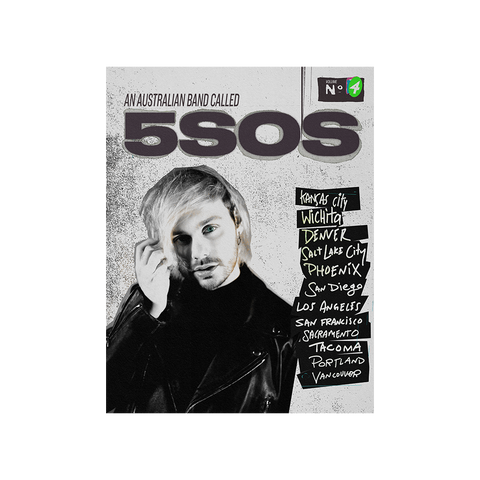 5SOS: TOUR ZINE '19 - No. 4