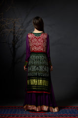 Mohini - Baandhni Layered Dress