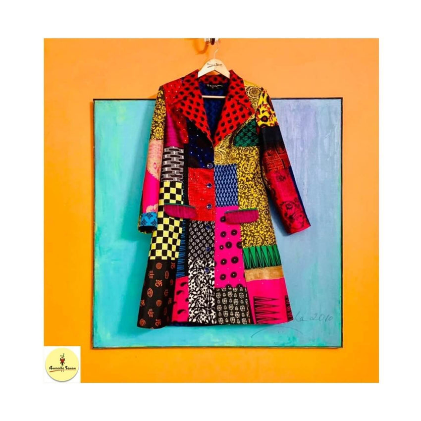 Harphanmaula Jacket - Anuradha Ramam-Hand woven- Hand block print - Sustainable fashion- Conscious fashion- Vocal for local