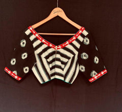 Ishani Blouse - Anuradha Ramam-Hand woven- Ikat-Sustainable fashion- Conscious fashion- Vocal for local