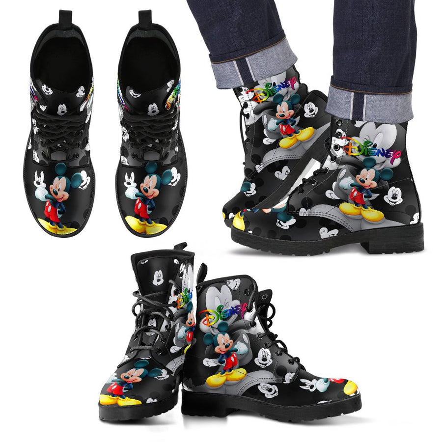 668449e118 Mickey Leather Boots 1