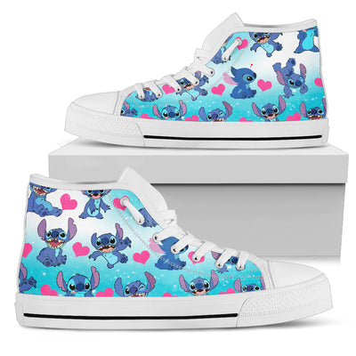 Stitch High Top Shoes 7 - CreatedOn Disney