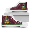 Mickey and Minnie Christmas High Top Shoes 4
