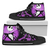 Jack Skellington High Top Canvas Shoes 4 - CreatedOn Disney