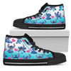 Stitch High Top Shoes 7