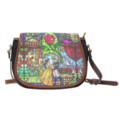 Beauty and The Beast Saddle Bag 1